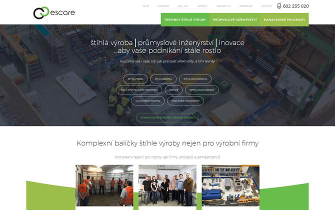 Reference Escare webové stránky